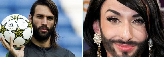 Samaras is Conchita Wurst