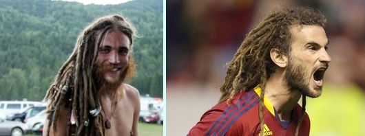 Kyle Beckerman lookalike