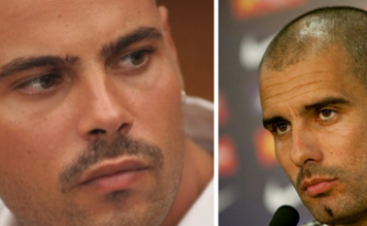 Guardiola lookalike